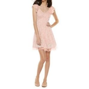 Disney Cinderella Pink Lace Dress